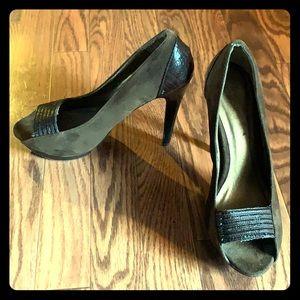 Chocolate Stiletto Heels
